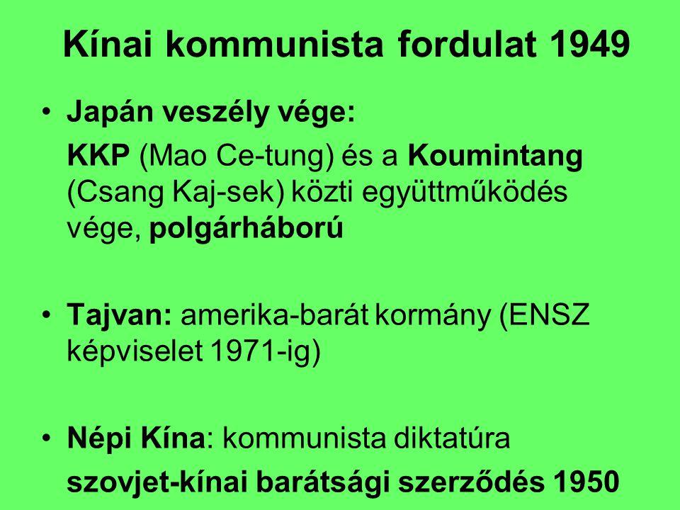 Kínai kommunista fordulat 1949