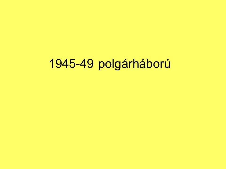 1945-49 polgárháború