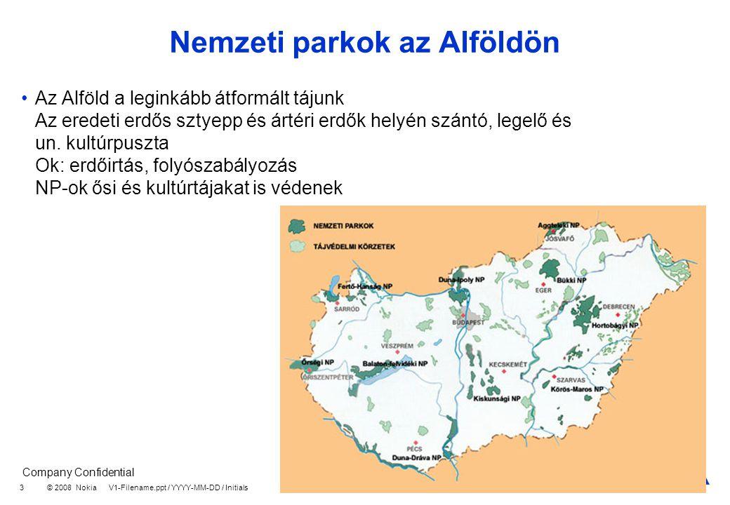 Nemzeti parkok az Alföldön