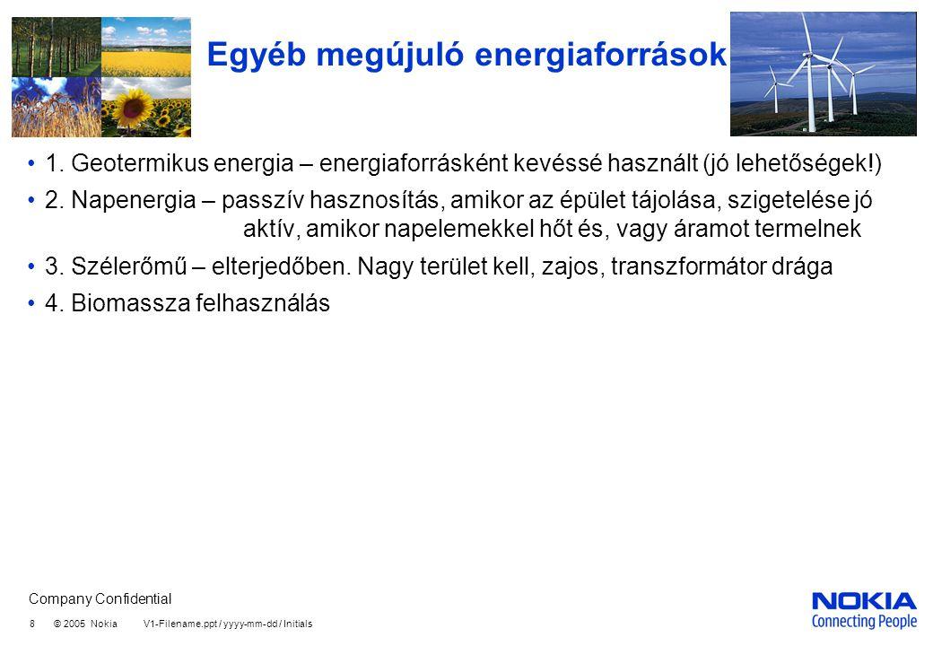 Egyéb megújuló energiaforrások