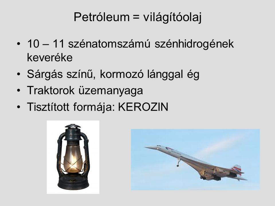 Petróleum = világítóolaj