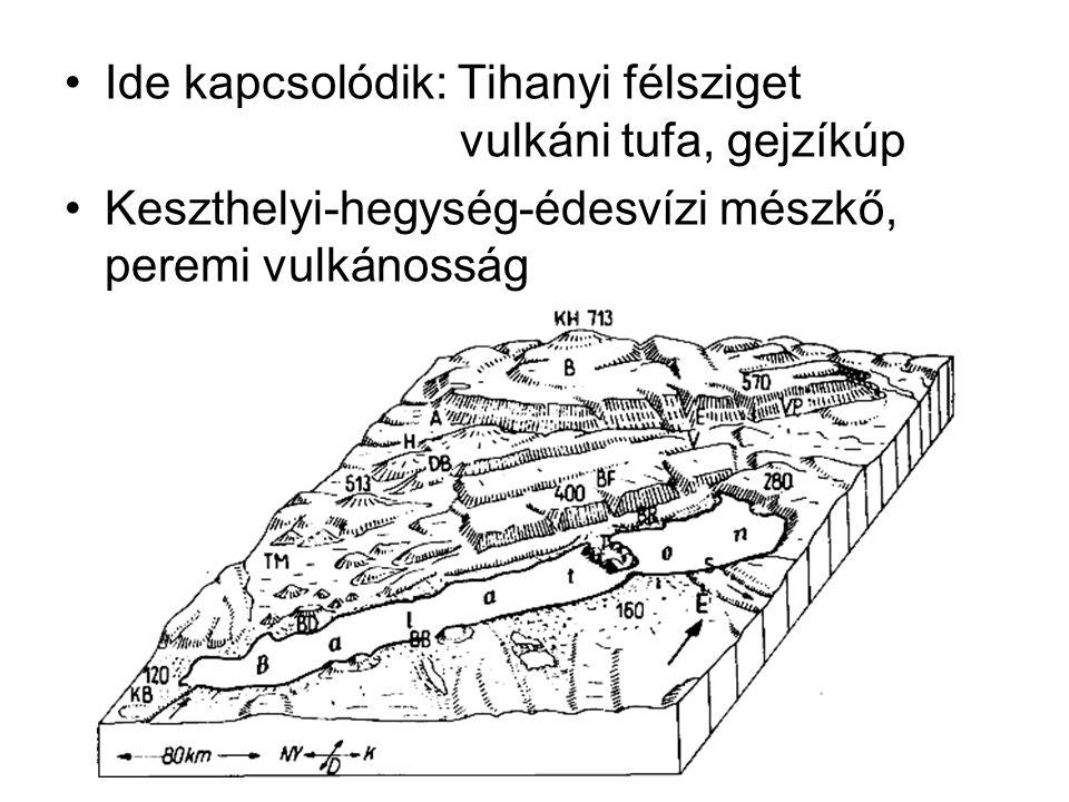 Ide kapcsolódik: Tihanyi félsziget vulkáni tufa, gejzíkúp