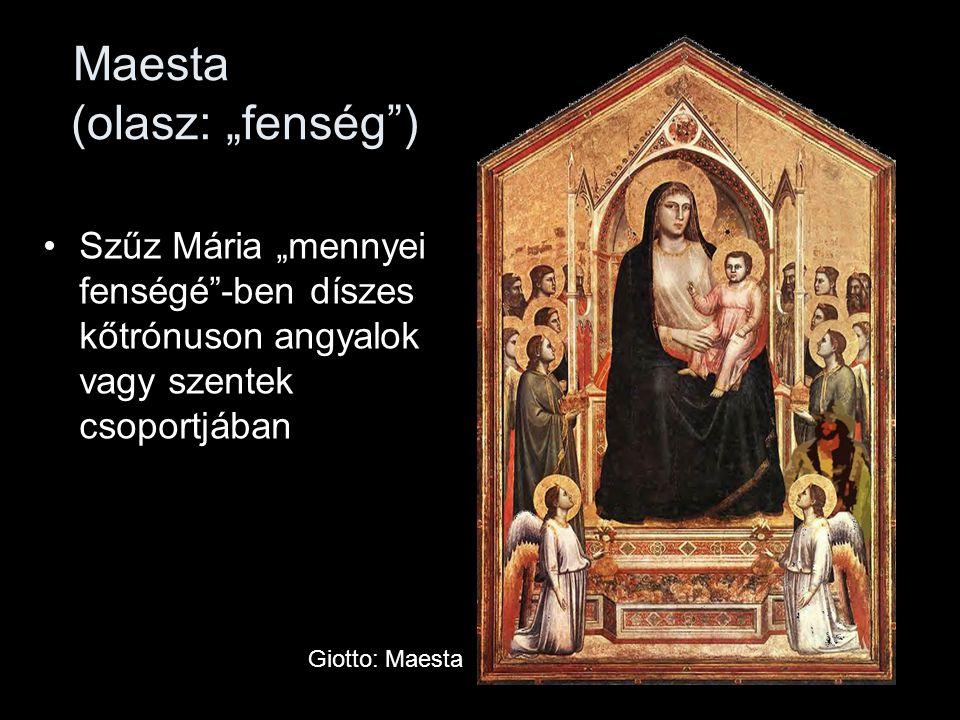 """Maesta (olasz: """"fenség )"""