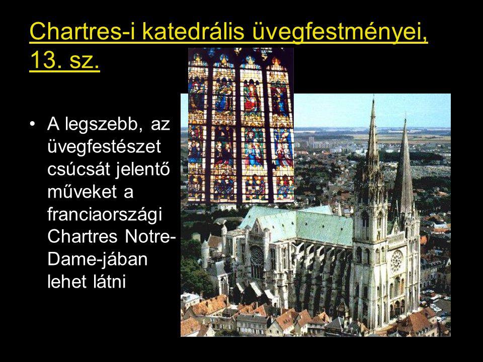 Chartres-i katedrális üvegfestményei, 13. sz.
