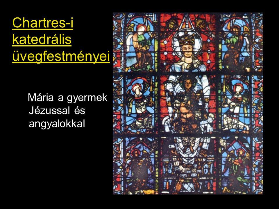 Chartres-i katedrális üvegfestményei