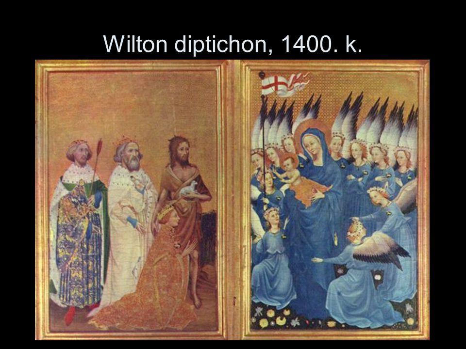 Wilton diptichon, 1400. k.
