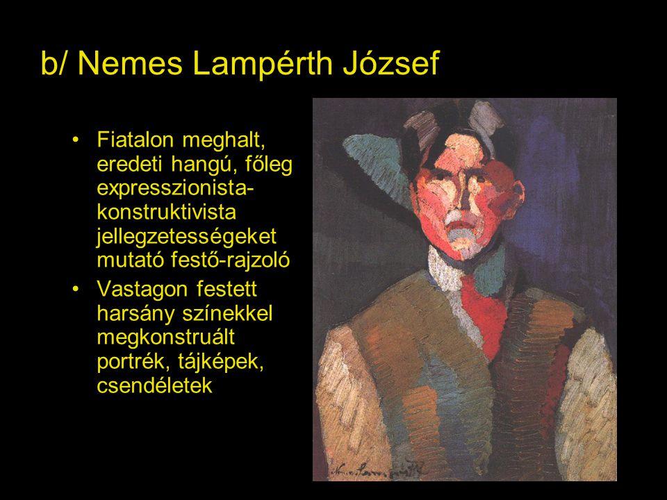 b/ Nemes Lampérth József