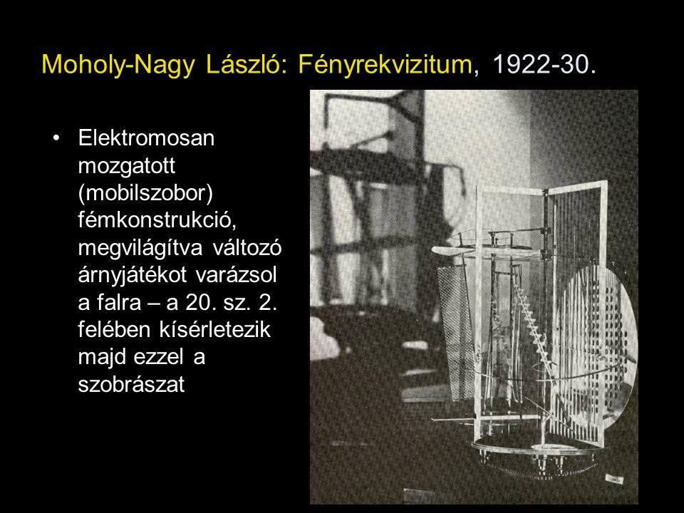Moholy-Nagy László: Fényrekvizitum, 1922-30.