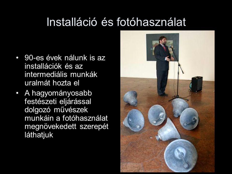 Installáció és fotóhasználat