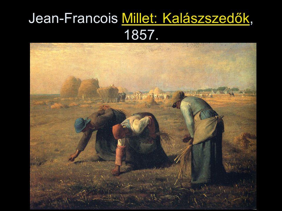 Jean-Francois Millet: Kalászszedők, 1857.