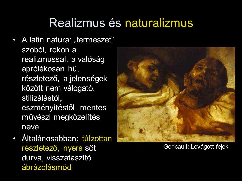 Realizmus és naturalizmus