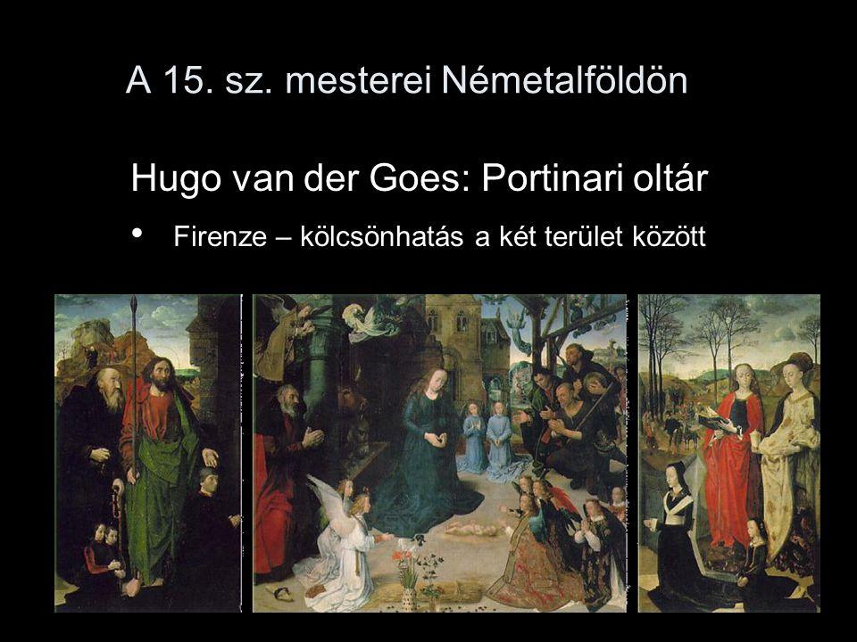 A 15. sz. mesterei Németalföldön