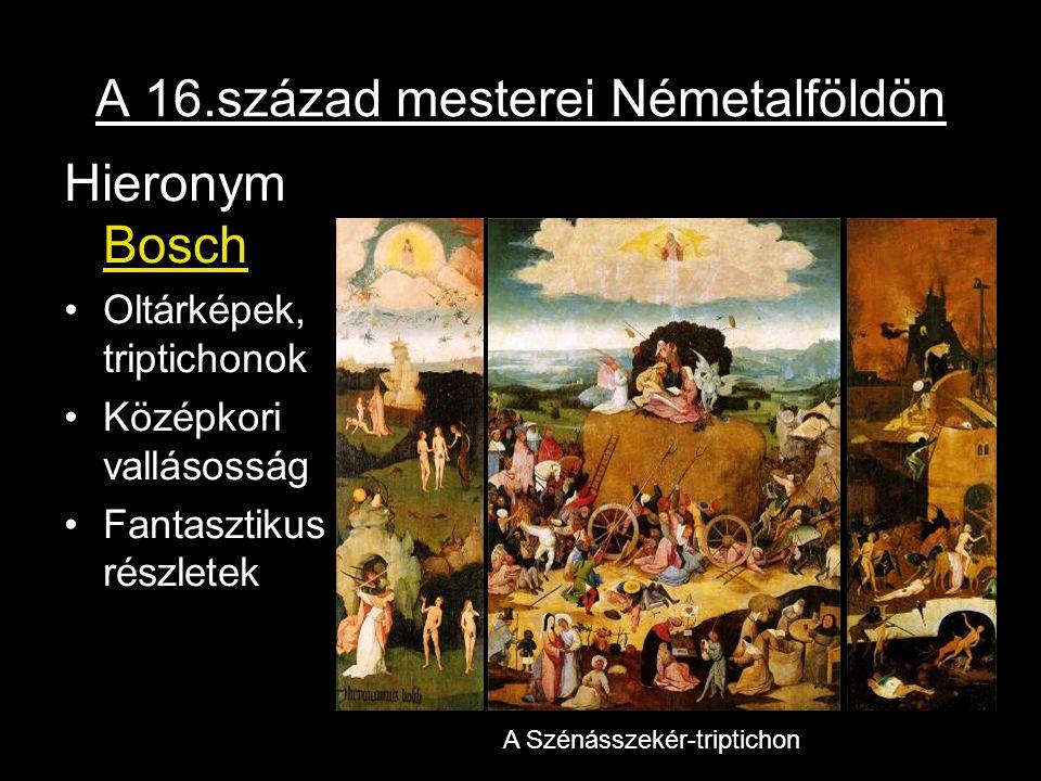 A 16.század mesterei Németalföldön