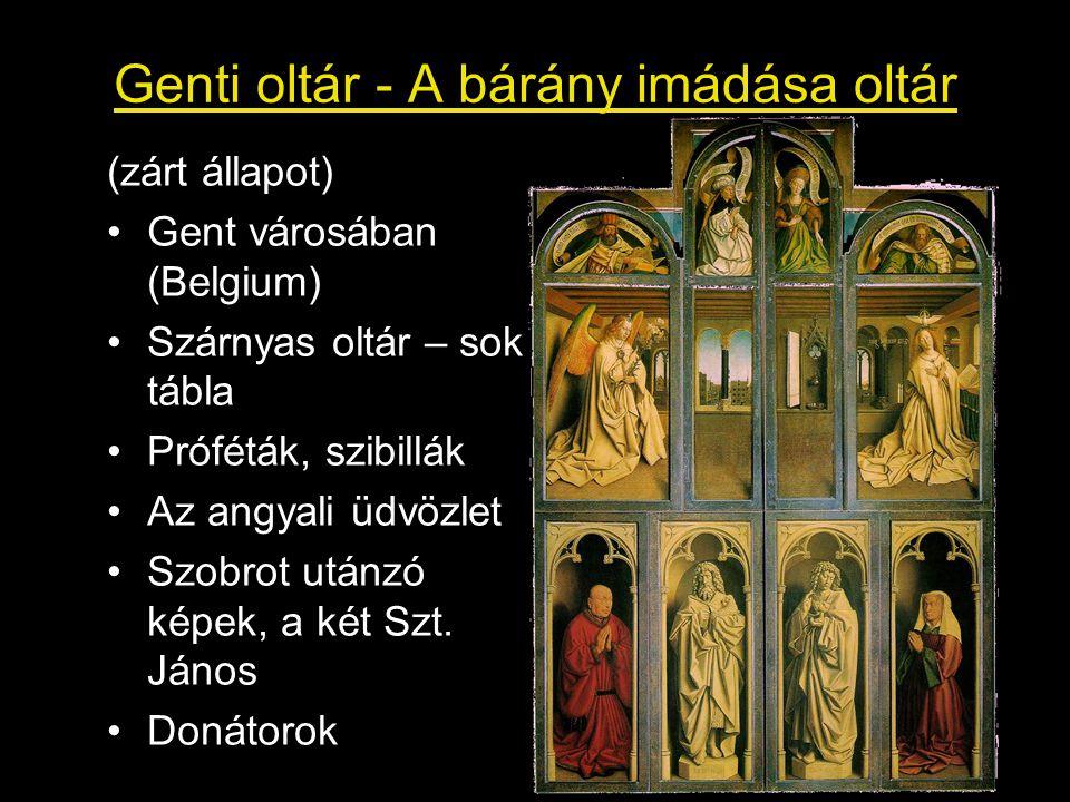 Genti oltár - A bárány imádása oltár