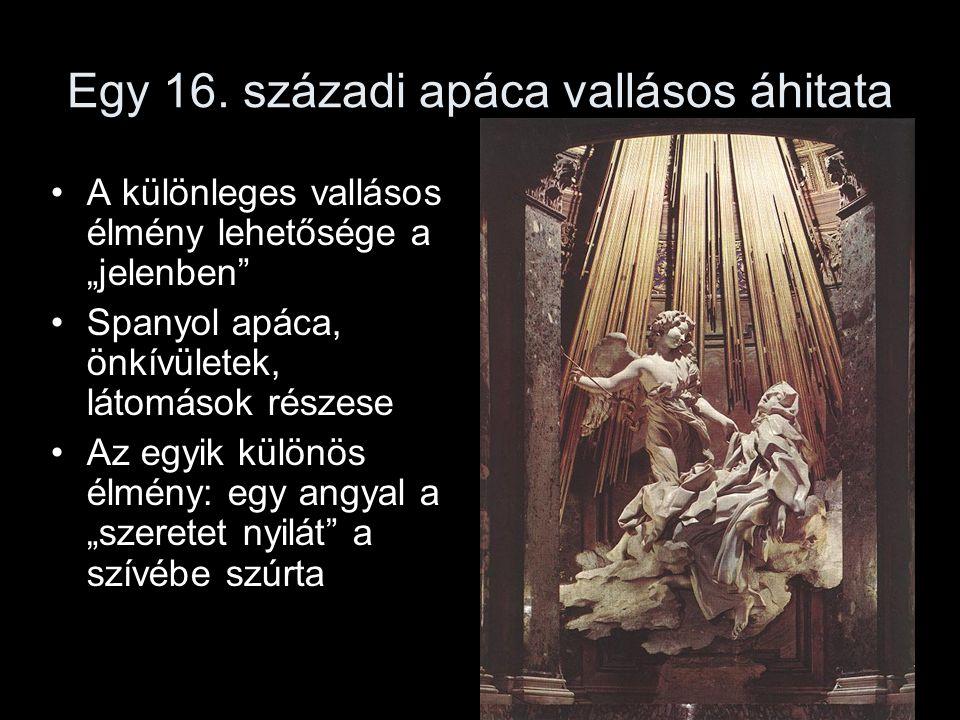 Egy 16. századi apáca vallásos áhitata