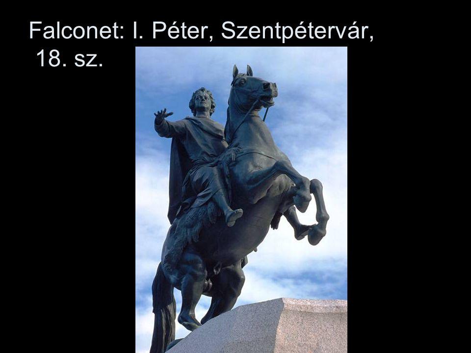 Falconet: I. Péter, Szentpétervár, 18. sz.