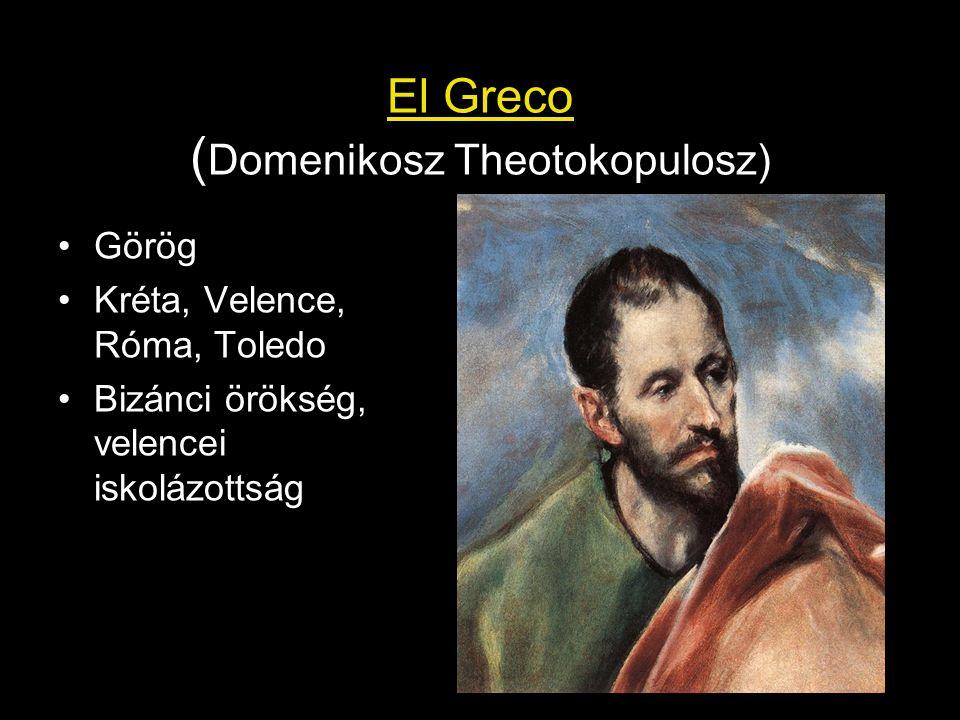 El Greco (Domenikosz Theotokopulosz)