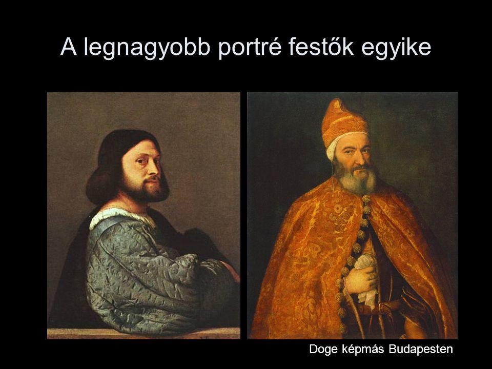 A legnagyobb portré festők egyike