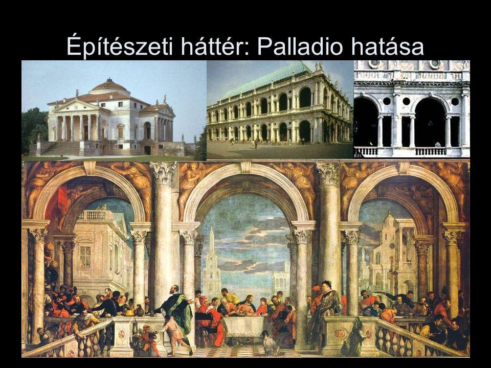 Építészeti háttér: Palladio hatása