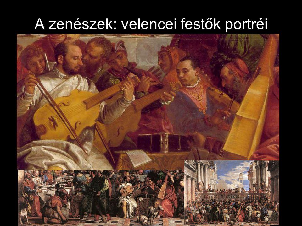 A zenészek: velencei festők portréi