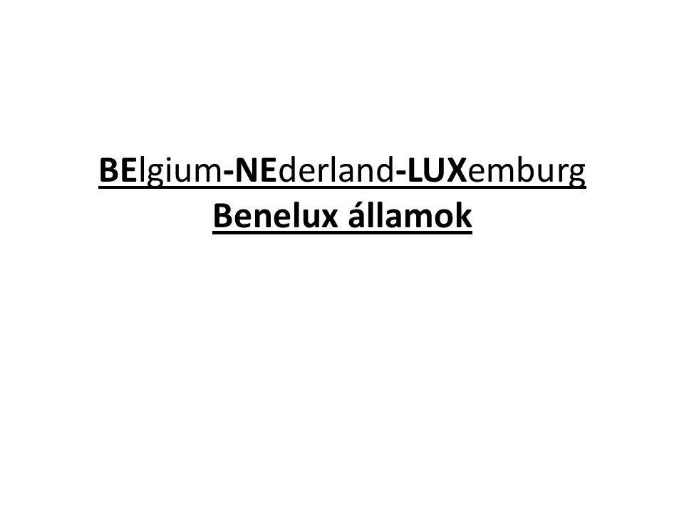 BElgium-NEderland-LUXemburg Benelux államok