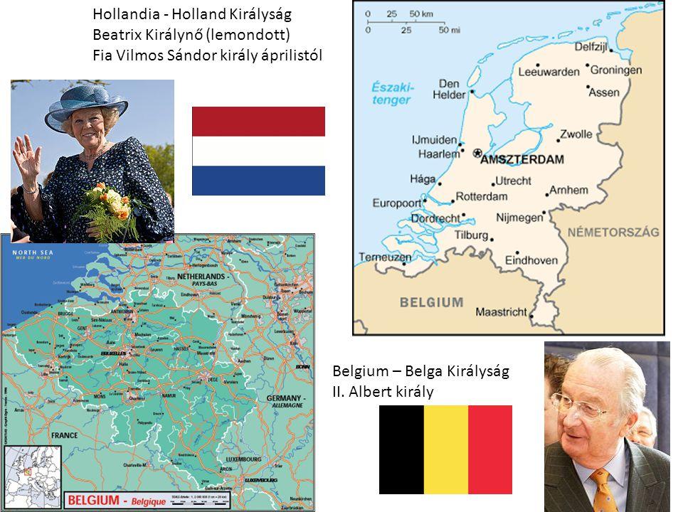 Hollandia - Holland Királyság Beatrix Királynő (lemondott) Fia Vilmos Sándor király áprilistól