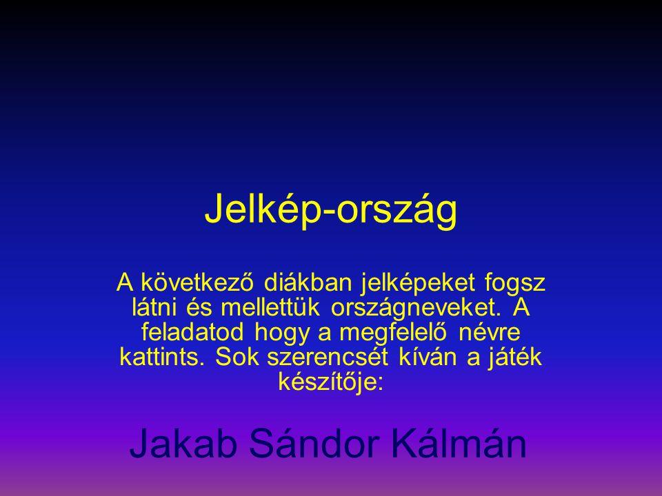 Jelkép-ország Jakab Sándor Kálmán