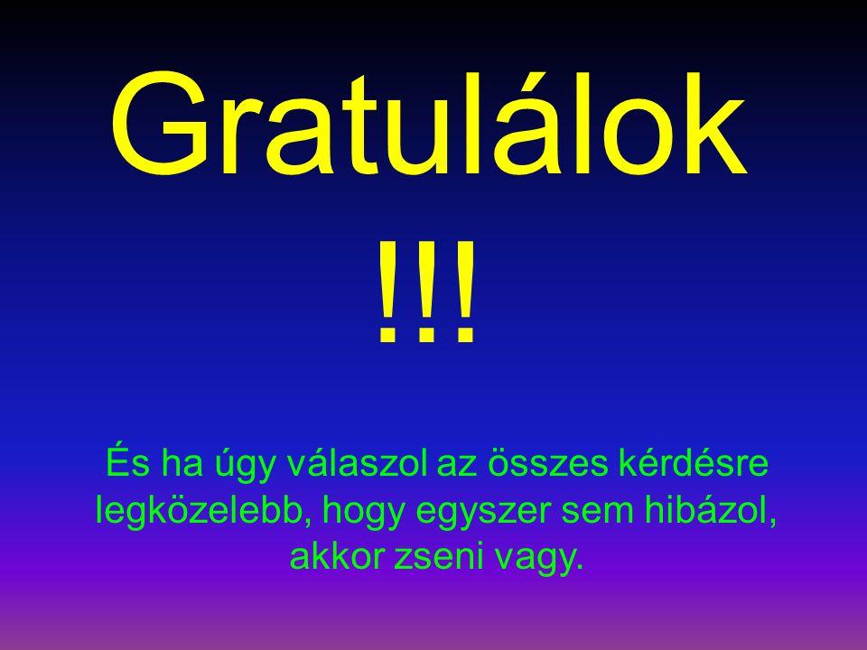 Gratulálok!!.