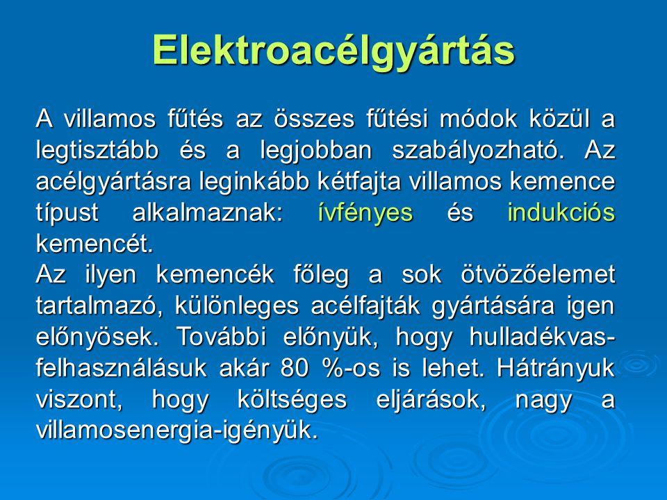 Elektroacélgyártás