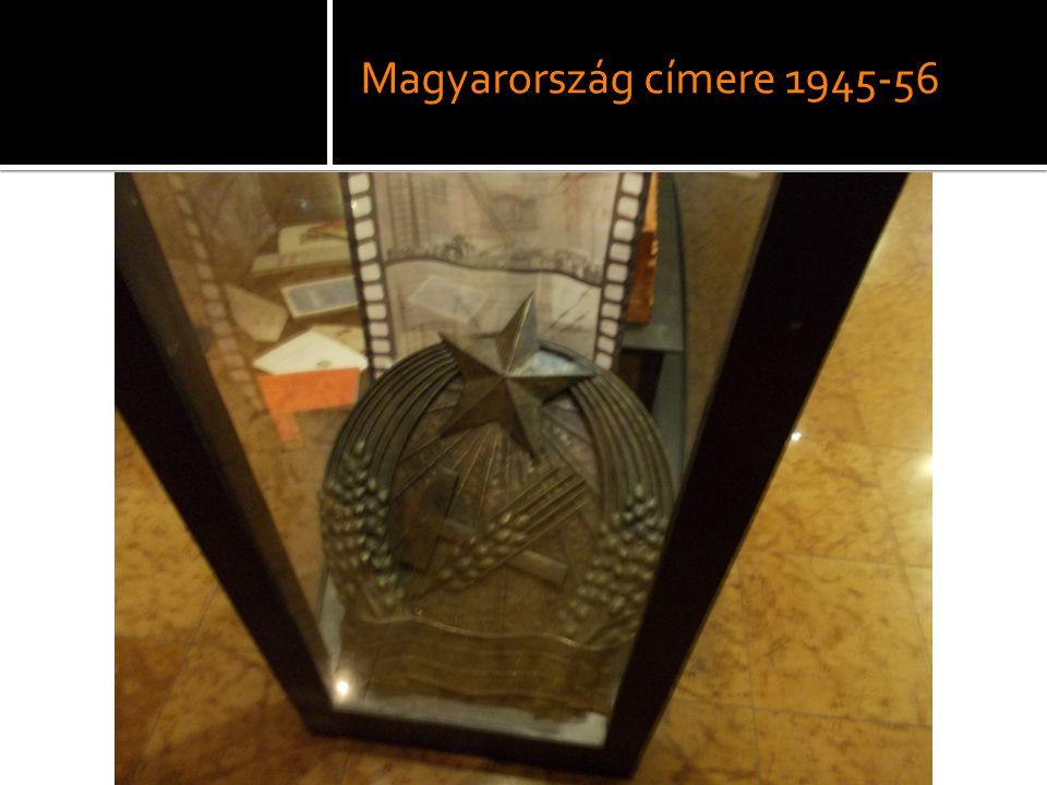 Magyarország címere 1945-56