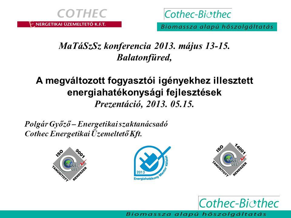 MaTáSzSz konferencia 2013. május 13-15.
