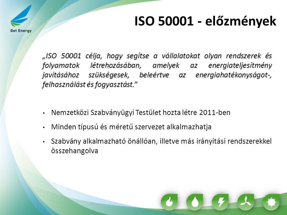 ISO 50001 - előzmények