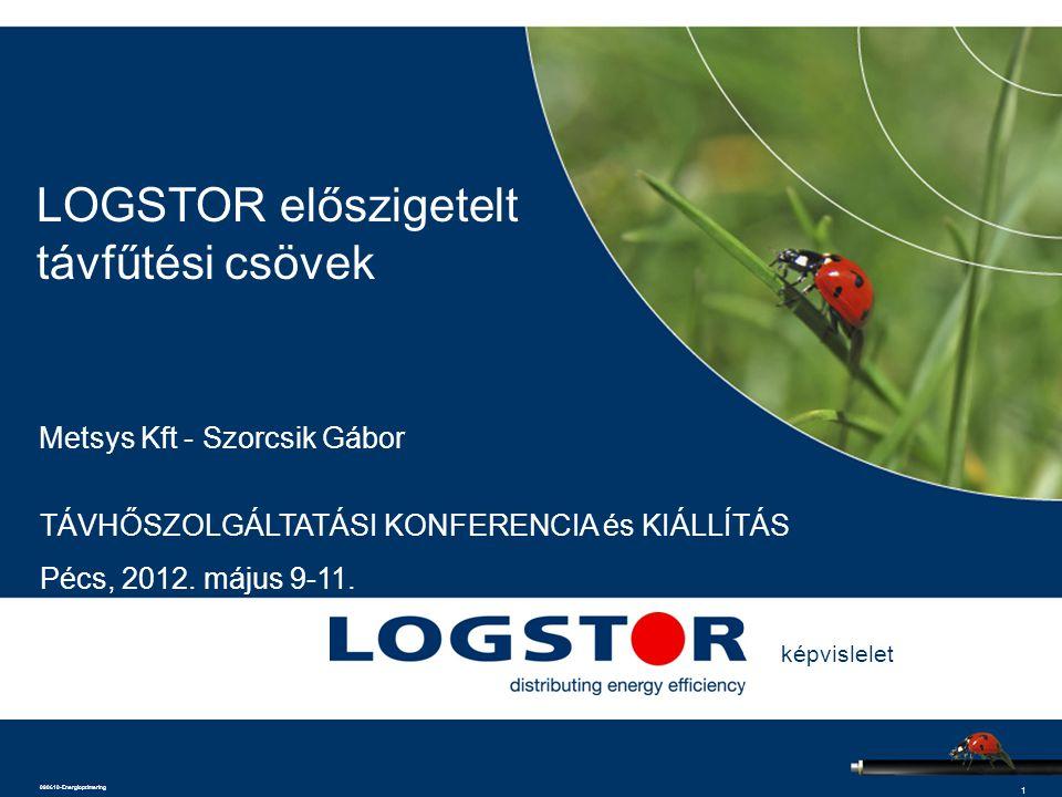 LOGSTOR előszigetelt távfűtési csövek