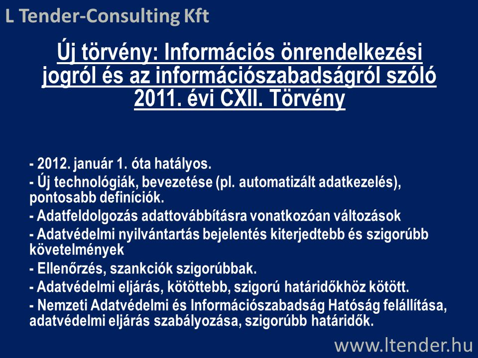 L Tender-Consulting Kft