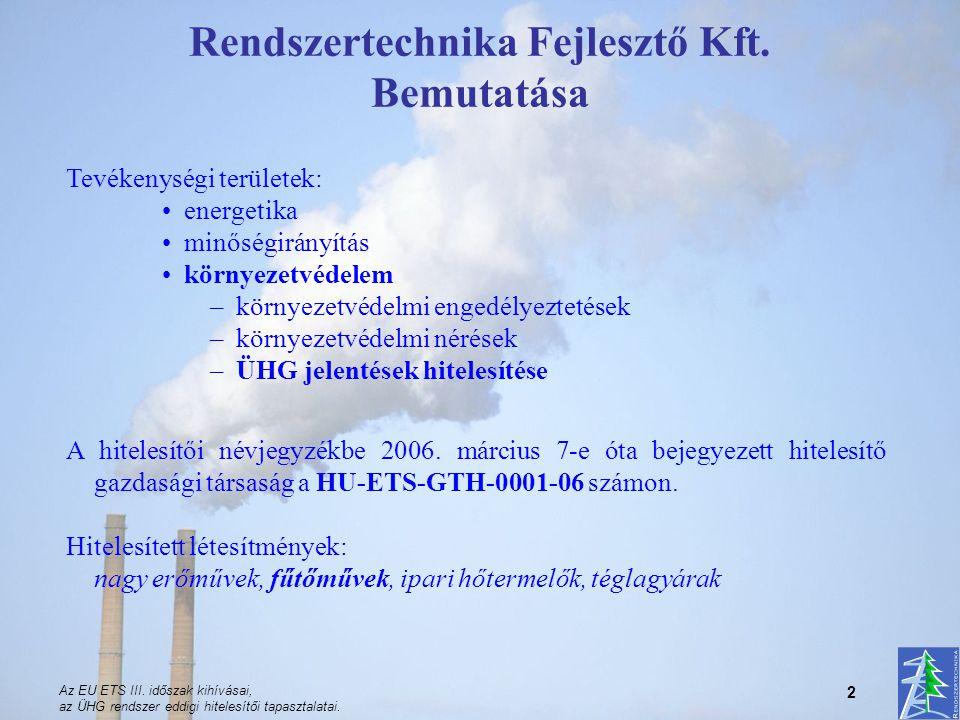 Rendszertechnika Fejlesztő Kft. Bemutatása