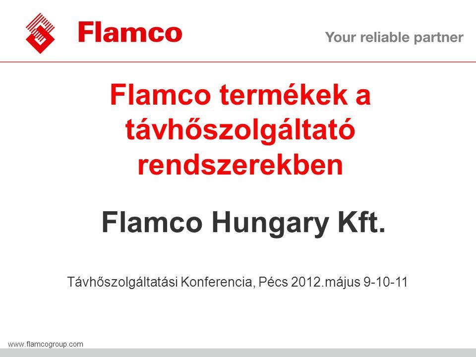 Flamco termékek a távhőszolgáltató rendszerekben