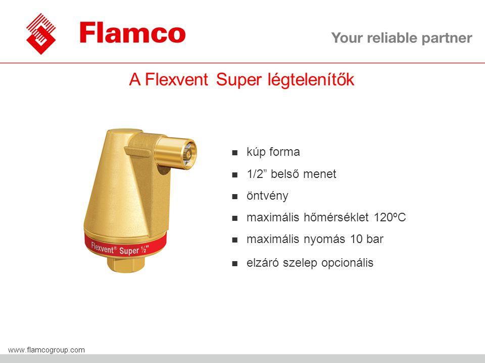 A Flexvent Super légtelenítők