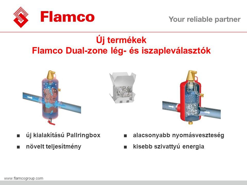 Új termékek Flamco Dual-zone lég- és iszapleválasztók