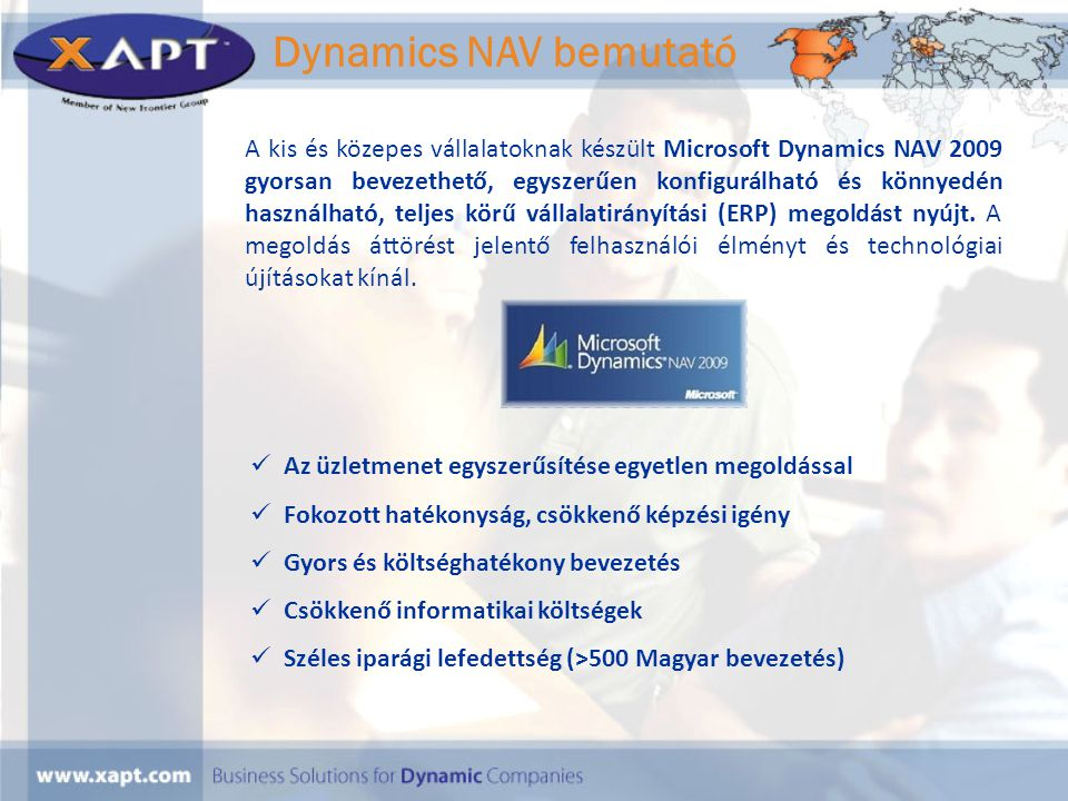 Dynamics NAV bemutató