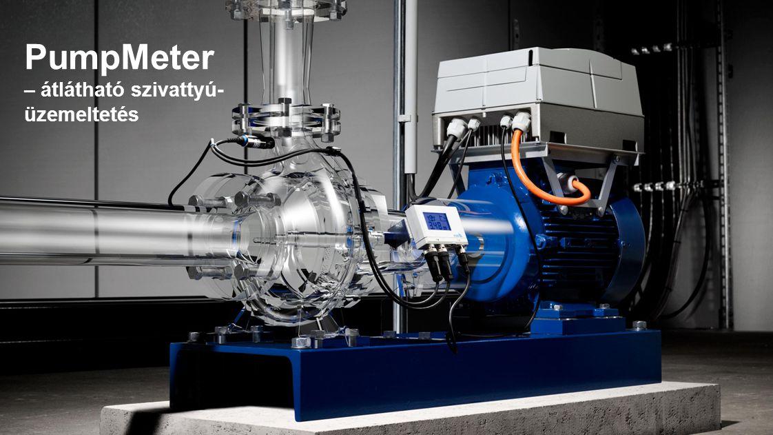 PumpMeter – átlátható szivattyú-üzemeltetés