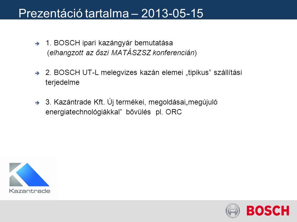 Prezentáció tartalma – 2013-05-15