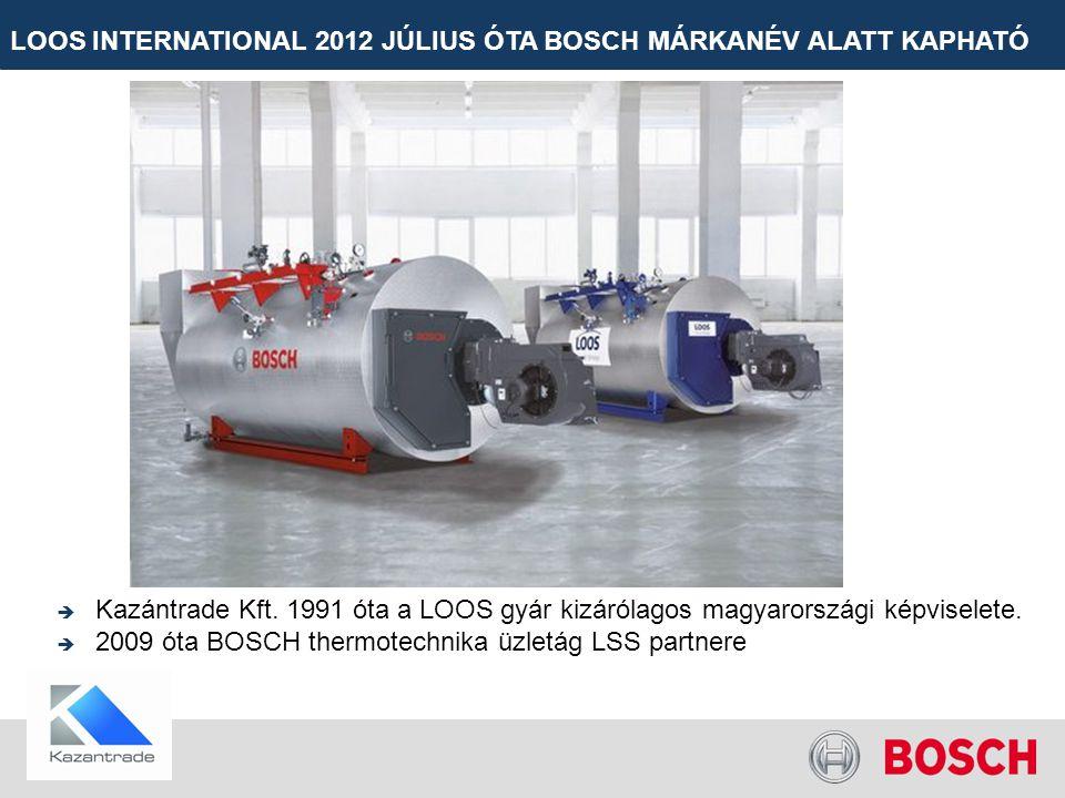 LOOS INTERNATIONAL 2012 JÚLIUS ÓTA BOSCH MÁRKANÉV ALATT KAPHATÓ