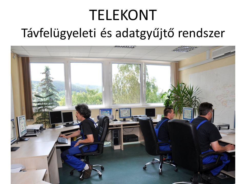 TELEKONT Távfelügyeleti és adatgyűjtő rendszer