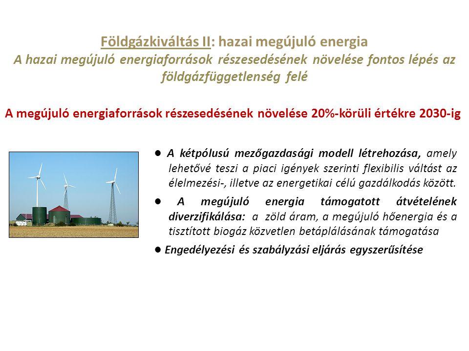 Földgázkiváltás II: hazai megújuló energia