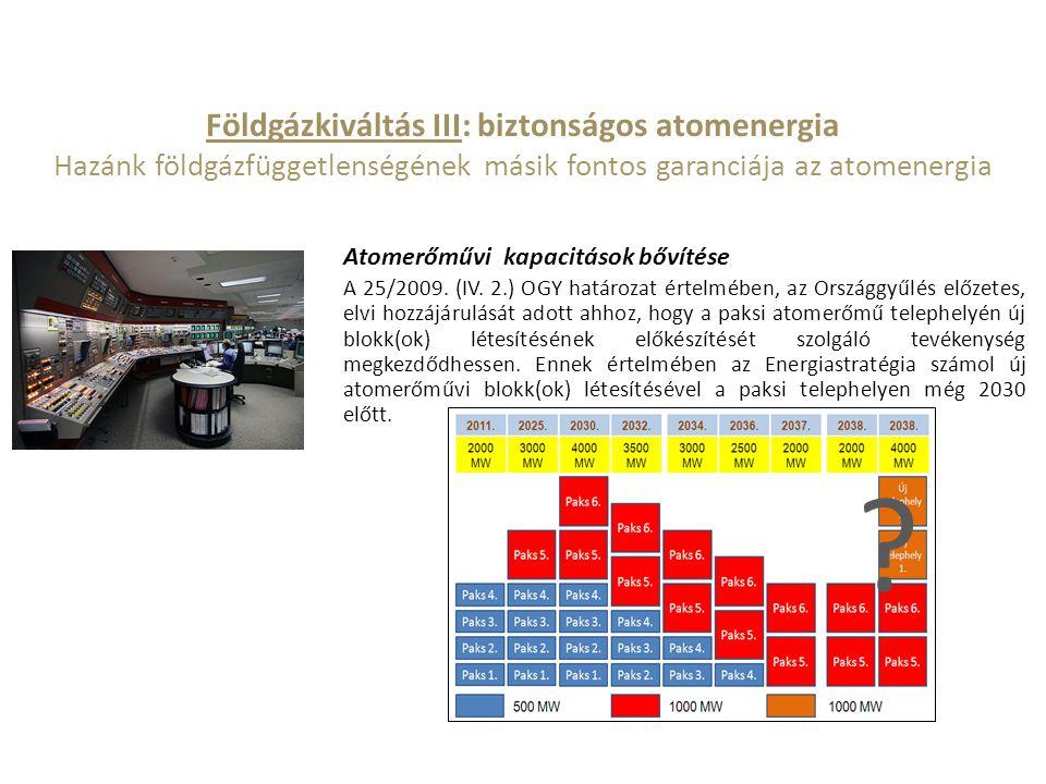 Földgázkiváltás III: biztonságos atomenergia