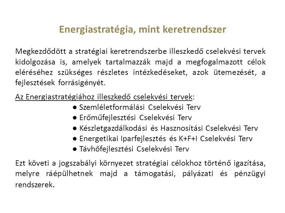 Energiastratégia, mint keretrendszer