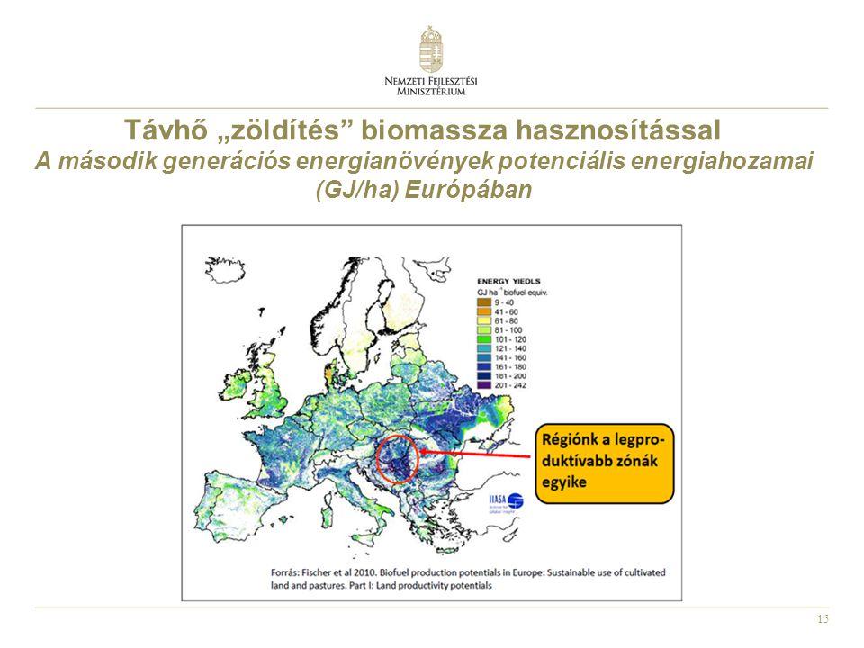 """Távhő """"zöldítés biomassza hasznosítással"""