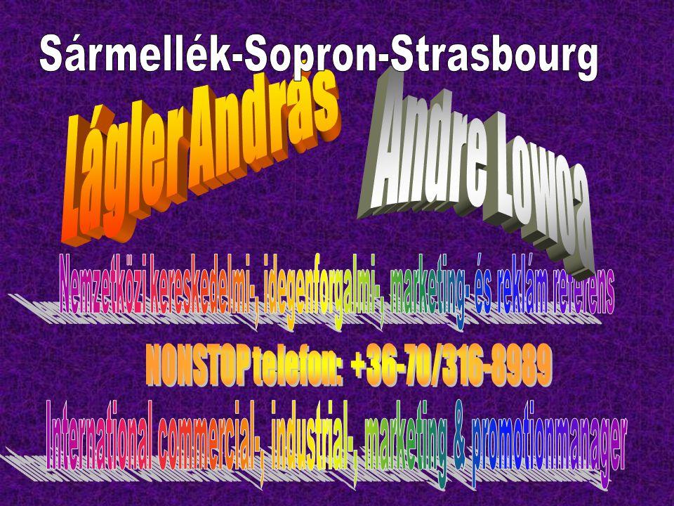 Sármellék-Sopron-Strasbourg Lágler András Andre Lowoa