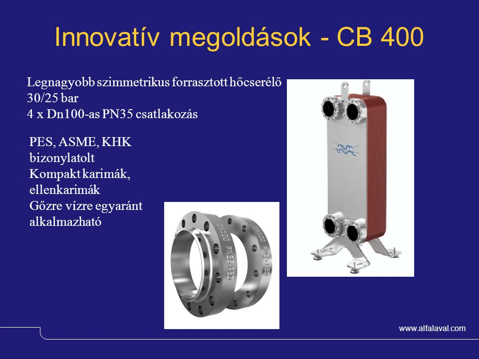 Innovatív megoldások - CB 400