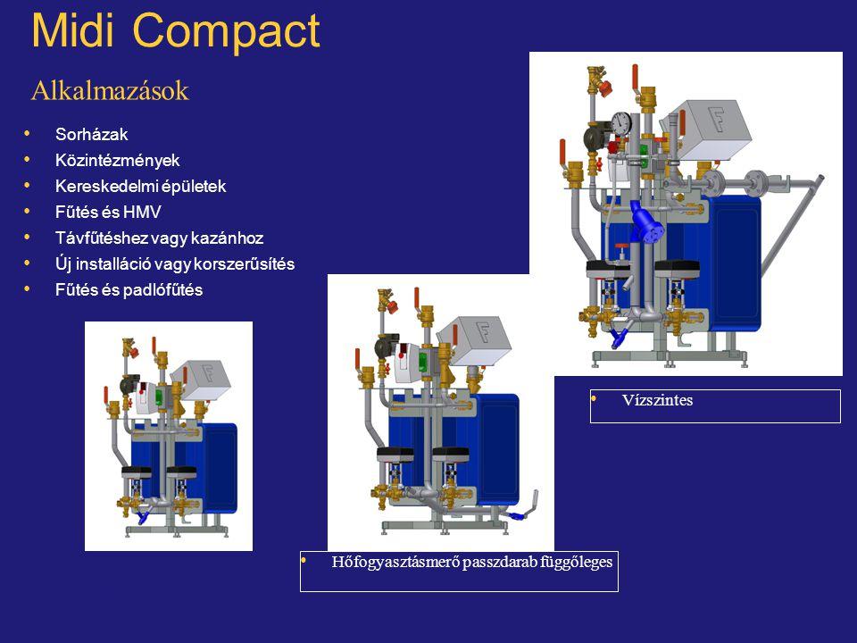 Midi Compact Alkalmazások Sorházak Közintézmények